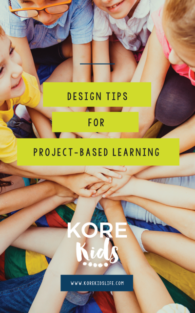 Design Tips for Project-Based Learning